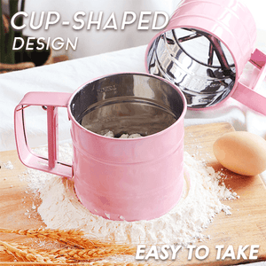One-Press Flour Sifter
