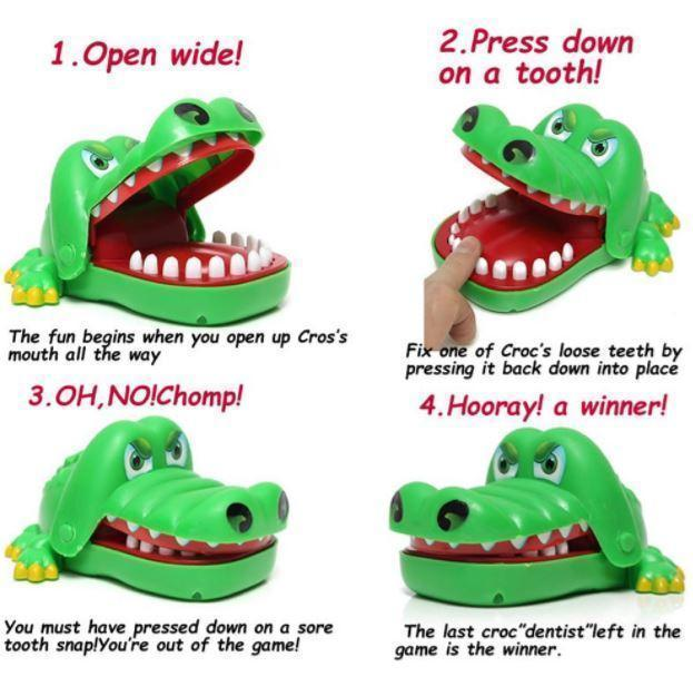 Crocodile Dentist Toy - makegoodies