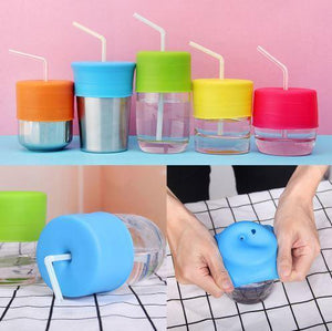 Silicone Straw Lid - makegoodies