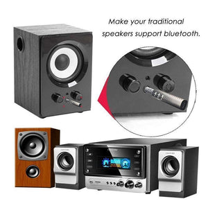 Bluetooth 4.1 Audio Receiver Dual 3.5mm Jack Output For Headset Car Kit Speaker