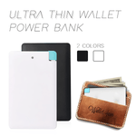 Ultra Thin Wallet Power Bank