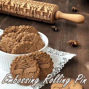 Pastry Embossing Rolling Pin