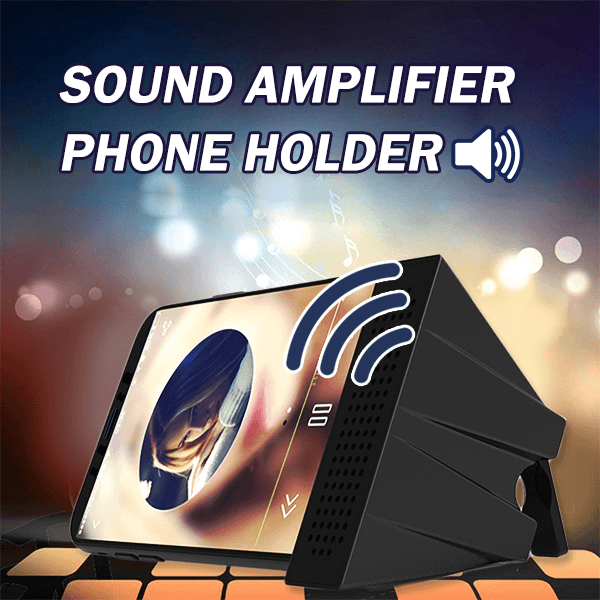 Sound Amplifier Phone Holder