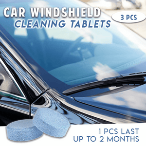 Car Windshield Cleaning Tablets (3 PCS)