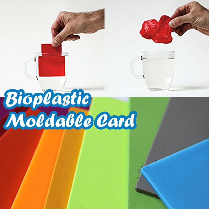 Bioplastic Moldable Card