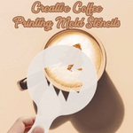 Creative Coffee Printing Mold Stencils (Set of 16) - makegoodies