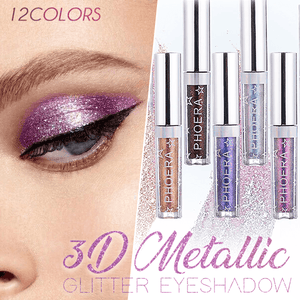 3D Metallic Glitter Eyeshadow