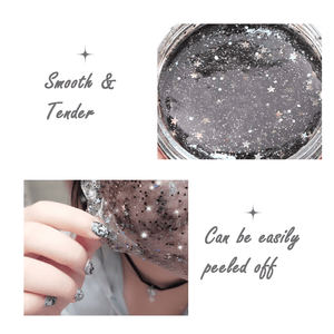 Star Glitter Mask - makegoodies
