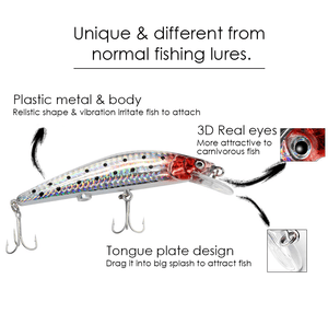 Rechargeable Twitching Fish Lure