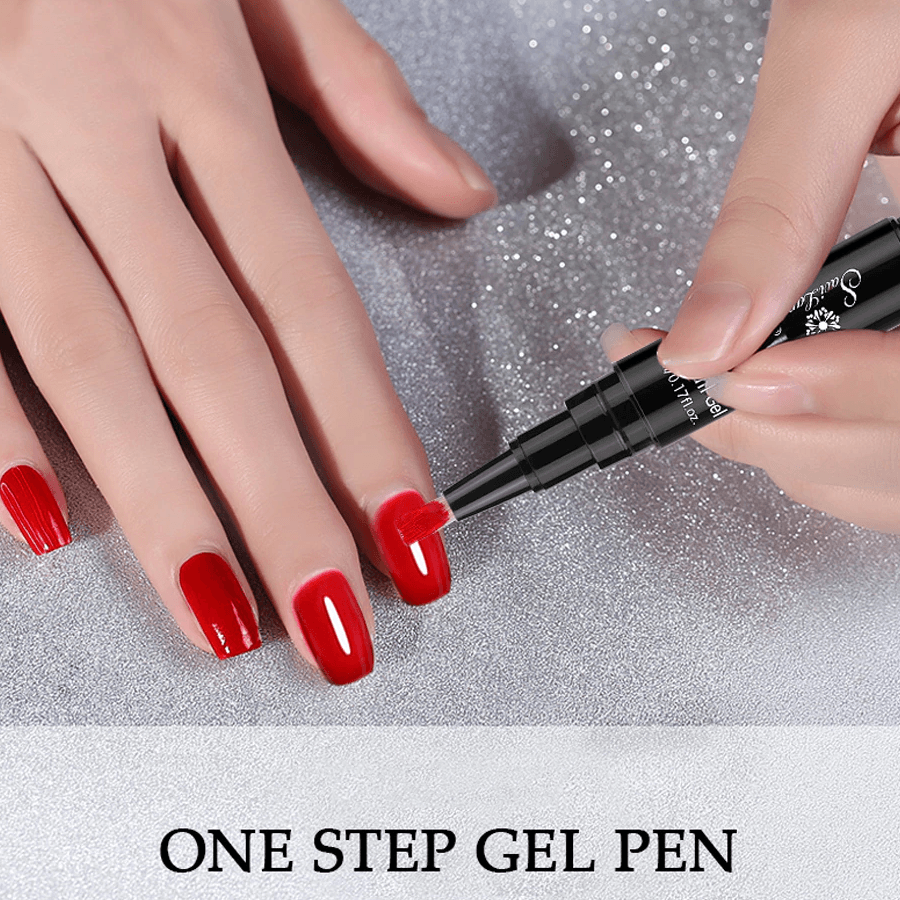 One Step Nail Gel Pen