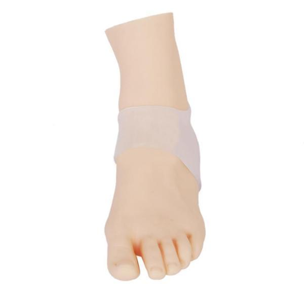 Silicone Gel Heel and Ankle Sleeve for Plantar Fasciitis - makegoodies