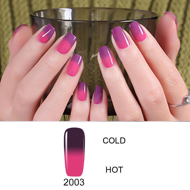 Color Changing Nail Gel Polish - makegoodies