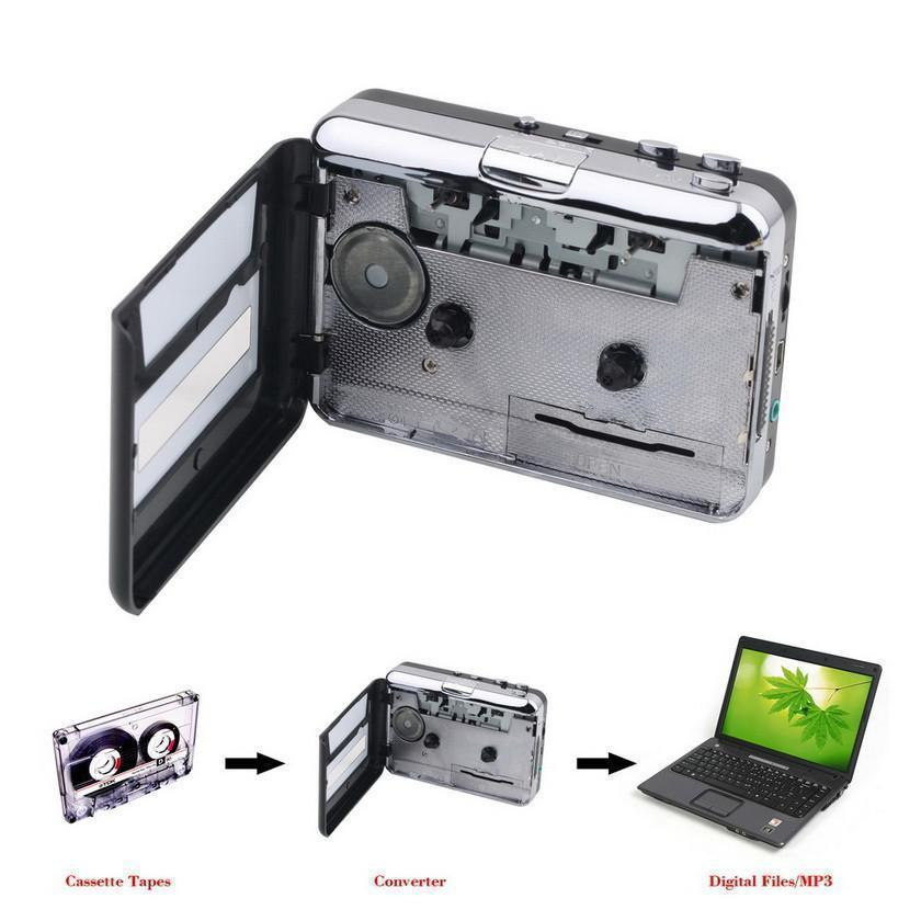 Portable Cassette To mp3 Music Converter - makegoodies