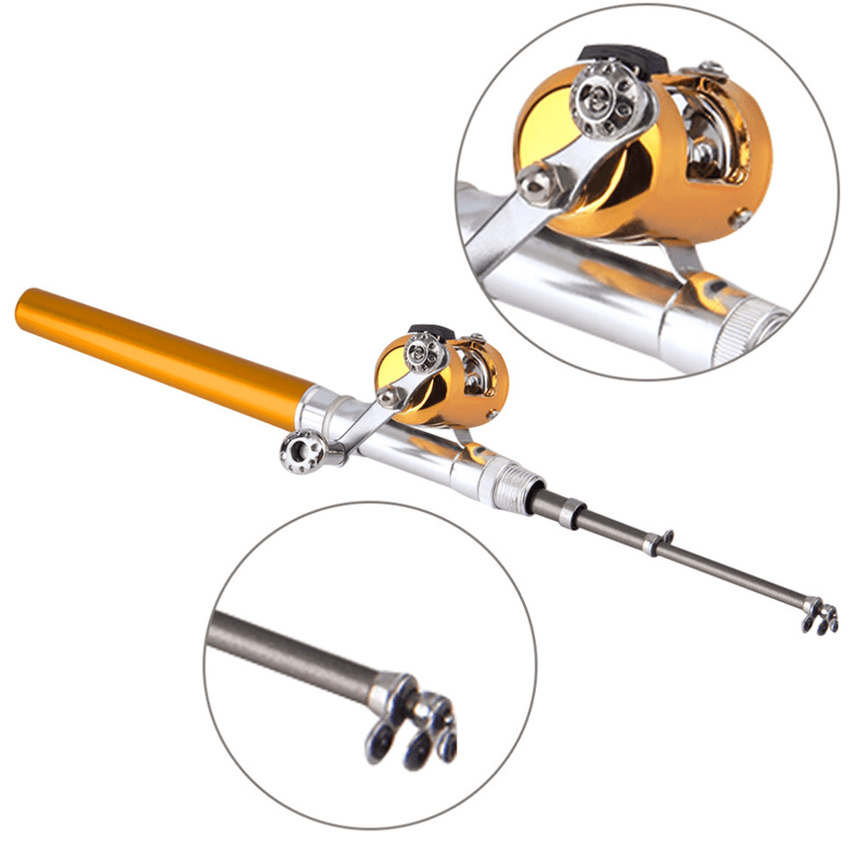 Mini Fishing Pod & Reel Set