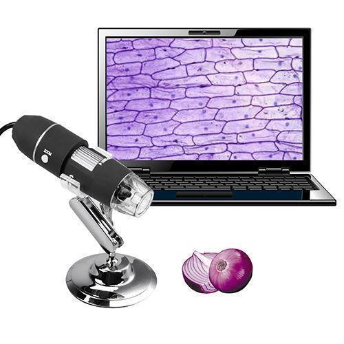 USB Digital Microscope Zoom Camera - 1000× Magnification with 8 Led - makegoodies