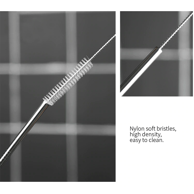 Reusable Stainless Steel Straw (5PCS)