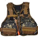 Lua Models Vest Dual Purpose Life Jackets Camo Fishing Suits Swim Outdoor Fishing Life Vest