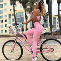 Women Sports Suit Fitness Gym Clothing 2 Piece Set Tracksuit Sexy Running Set Bras Leggings Yoga Set