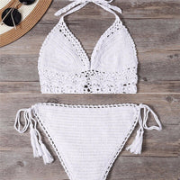 Knitting Swimwear Tassel
