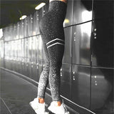 Patchwork Yoga Set Sport Fitness Women Pants Leggings Push Up Yoga Pants Summer Sportswear