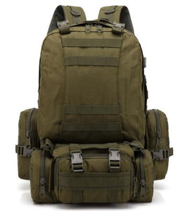 Black Hawk Commandos Military Backpack 3-day Assault Pack 35-55L camouflage bag