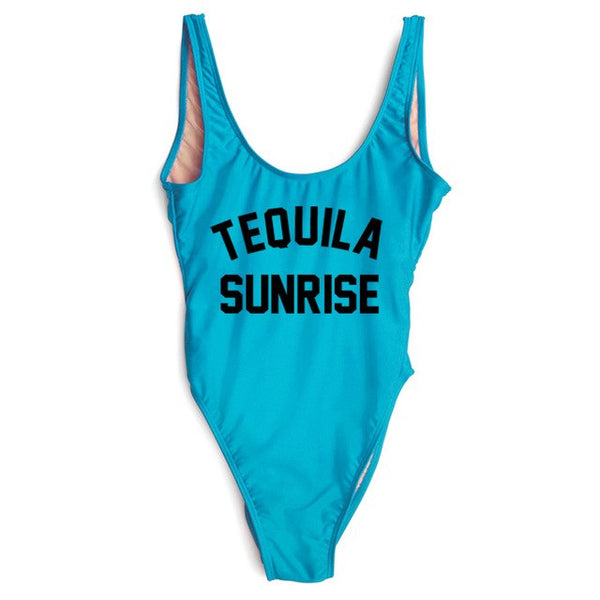 Tequila Sunrise Bathing Suit
