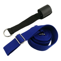 Sport Yoga Adjustable Door Upper Leg New Yoga Strap Tension Band Stretch Belt With Cotton multi-function Yoga Belt Rope