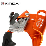 XINDA  Outdoor Sports Rock Climbing Left Hand Grasp 8mm-13mm Rope Hand Ascender Device Mountaineer Riser Tool Kits