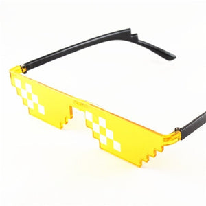 Arrival MineCrafted Sunglasses Kids cos play action Game Toys Minecrafter Square Glasses with EVA case gifts