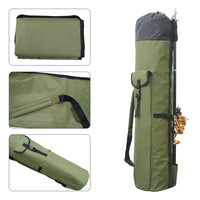 Fishing Portable Multifunction Nylon Fishing Bags Fishing Rod Bag Case Fishing Tackle Tools Storage Bag