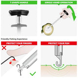 Easy Fish Hook Remover New Fishing Tool Minimizing The Injuries Tools Tackle T-type hook remover hook fishing tool
