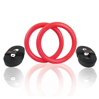 Gymnastic Rings With Foam Handle