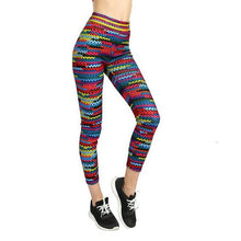 Vertvie Female Tight Pants Jogger Women Elastic Running Yoga Leggings 3D Print Execise Yoga Pants Slim Soft Leggings Multicolor