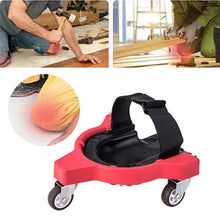 Plastic Workplace Rolling Kneepads Foam Padded Laying Tile Brush Wall Universal Wheel Knee Protection Pad Safety Accessories