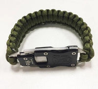 Outdoor Survival Multi Functional EDC Tactical 7 Core Umbrella Rope Bracelet