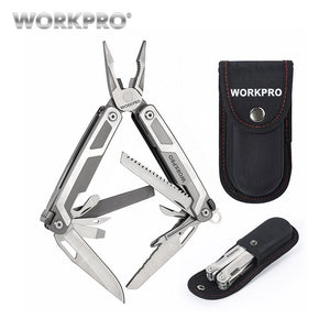 WORKPRO 16 in1 Multifunctional Plier Multi Tools Stainless Steel Plier Outdoor Camping Tool