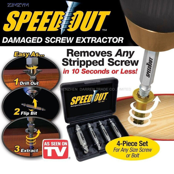 Damaged Screw Extractor