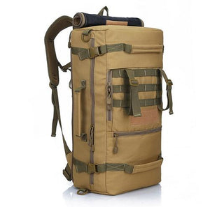 50L Military Tactical Backpack Camping Bags Mountaineering bag Men's Hiking Rucksack Travel Backpack