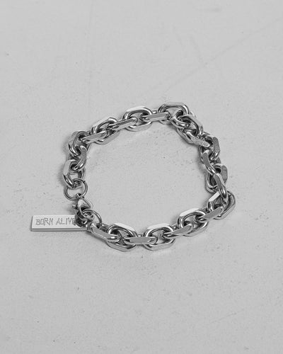 stainless steel bracelet represent born alive streetwear shop pesoclo peso