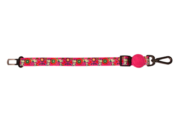 SEAT BELT PINKFLOWER