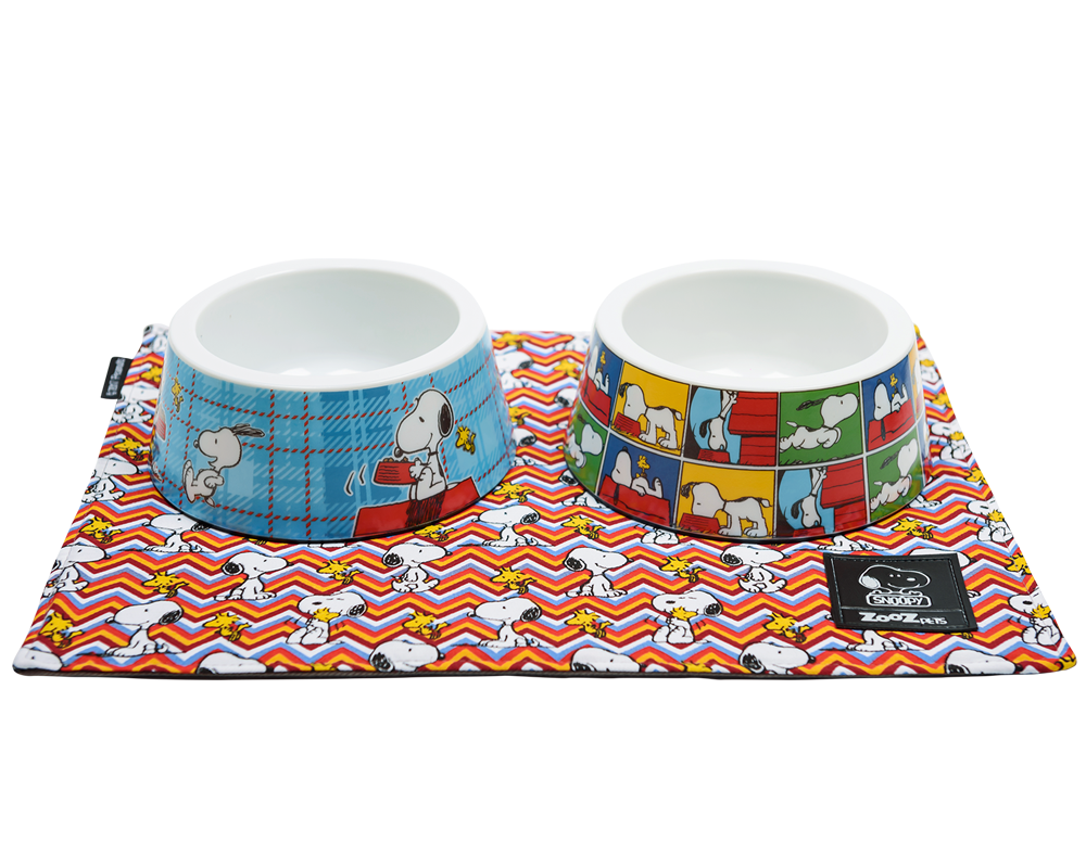 PLACEMATS SNOOPY ZIG ZAG - Zooz Pets