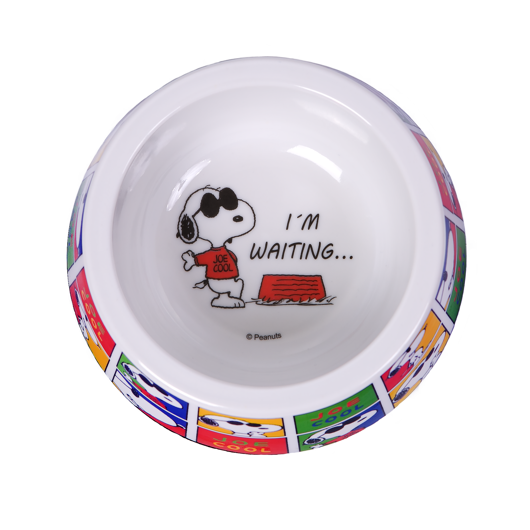 BOWL MELAMINE SNOOPY JOE COOL