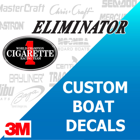Custom Boat Decals