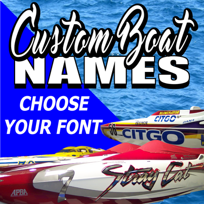 Custom Boat Names