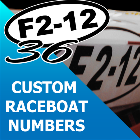 RACE BOAT NUMBERS