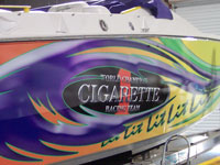 Custom boat decals and Graphics