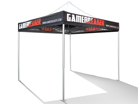 V3 Pop Up Tent 10 x 10 - Printed Valance Only