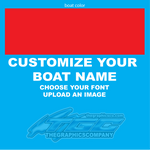 Design Your Own Boat Name