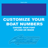Design Your Own Boat Registration Numbers