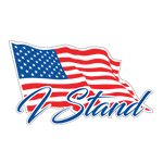 I Stand American Flag Sizes 3inch - 48inch